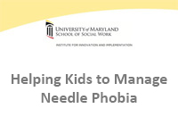 Helping Kids to Manage Needle Phobia