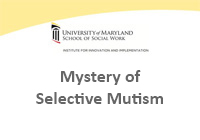 Mystery of Selective Mutism