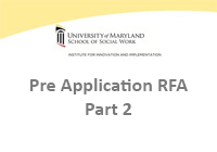 Pre Application RFA - Part 2